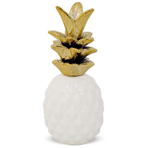 Pineapple White&Gold